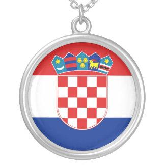 クロアチア シルバープレートネックレス