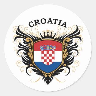 クロアチア ラウンドシール