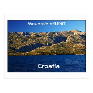 クロアチア-山Velebit はがき