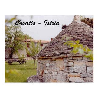 クロアチア- Istria はがき