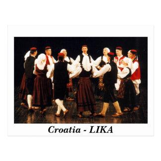 クロアチア- LIKA ポストカード