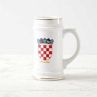 クロアチアCOA ビールジョッキ