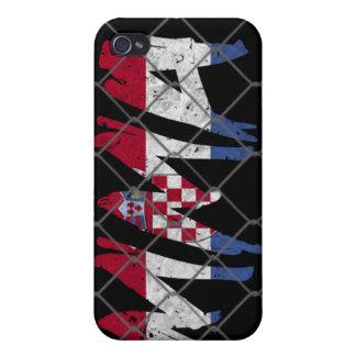 クロアチアMMA 4GのiPhoneの場合 iPhone 4 ケース
