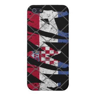 クロアチアMMA 4GのiPhoneの場合 iPhone 5 Case