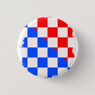 クロアチアPin 3.2cm 丸型バッジ