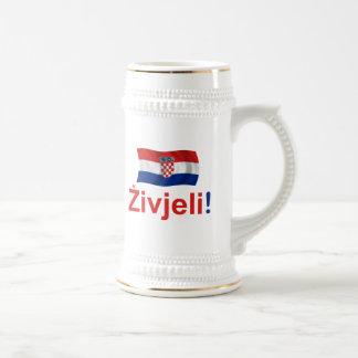 クロアチアZivjeli! (応援) ビールジョッキ