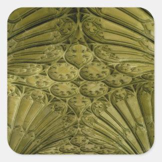 クロイスターの扇形天井 スクエアシール
