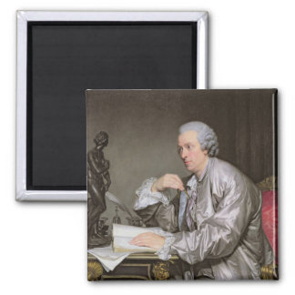 クロウドアンリーWatelet 1763-65年のポートレート マグネット