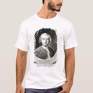 クロウドAdrien Helvetiusのフランス語のポートレート Tシャツ