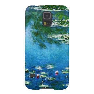 クロウドMonet水ユリ Galaxy S5 ケース