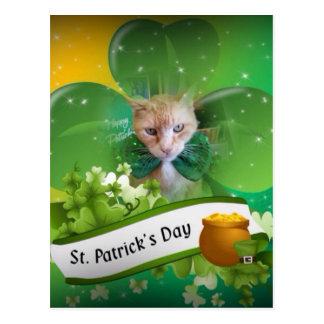 クロウドSt. Patricks日 ポストカード