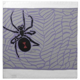 クロゴケグモのくも ナプキンクロス