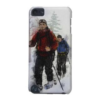 クロス・カントリーのスキーヤー iPod TOUCH 5G ケース