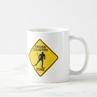 クロス・カントリーのスキー地帯 コーヒーマグカップ