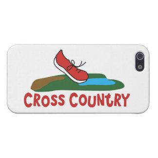 クロス・カントリーのランニング iPhone 5 ケース