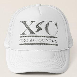 クロス・カントリーの連続したシマウマのプリントのデザインの帽子 キャップ