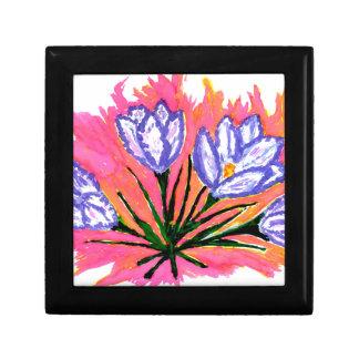 クロッカスによっては絵画2が開花します ギフトボックス