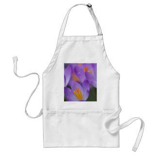 クロッカスの素晴らしく穏やかな花 スタンダードエプロン