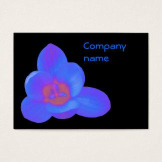 クロッカスの花のカスタマイズ可能な名刺 名刺