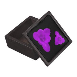 クロッカスの花の紫色の優れたギフト用の箱 ギフトボックス