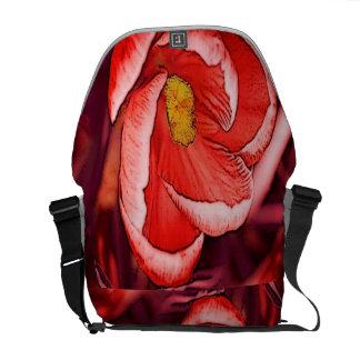 クロッカスの花 メッセンジャーバッグ