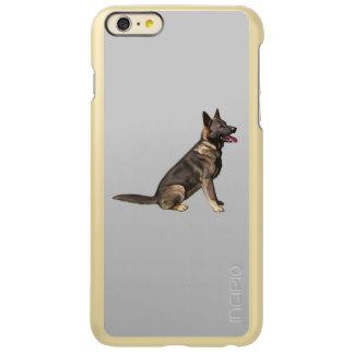 クロテンのジャーマン・シェパード犬 INCIPIO FEATHER SHINE iPhone 6 PLUSケース