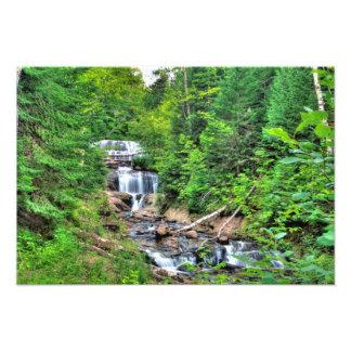 クロテンの滝、ミシガン州 フォトプリント