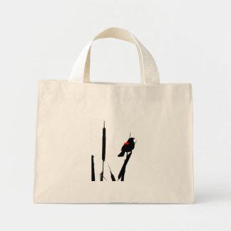 クロドリ及びネコヤナギのバッグ ミニトートバッグ