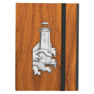 クロムはチーク木の灯台を好みます iPad AIRケース