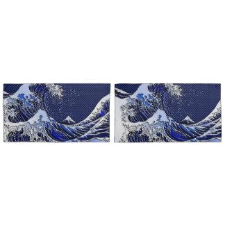 クロムスタイルのHokusaiの素晴らしい波 枕カバー