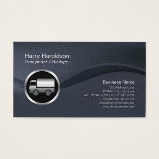 クロムトラックアイコン運送者の索引力BusinessCard 名刺