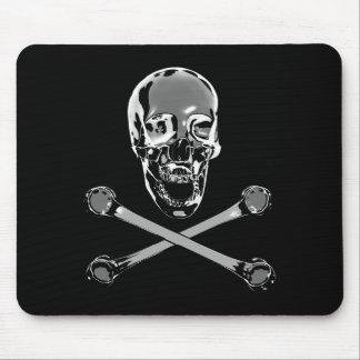 クロム海賊旗 マウスパッド