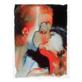 クローズアップのキス1988年 ポストカード