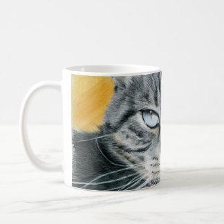 クローズアップのソエ猫のスケッチのマグ コーヒーマグカップ
