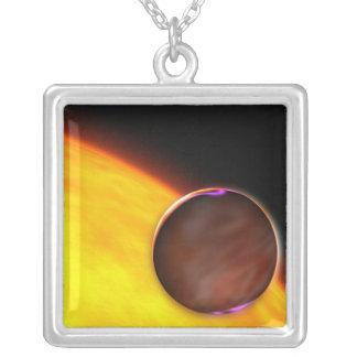 クローズアップ|extrasolar|惑星 パーソナライズネックレス