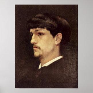 クロード・ドビュッシー1886年 ポスター