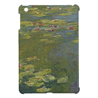 クロード・モネのスイレンの池のiPad Miniケース iPad Mini カバー