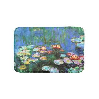 クロード・モネのスイレンの池 バスマット