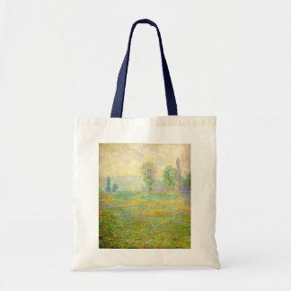 クロード・モネのトートバック- Givernyの草原 トートバッグ