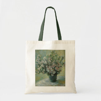 クロード・モネのヴィンテージのファインアート著花のつぼ トートバッグ