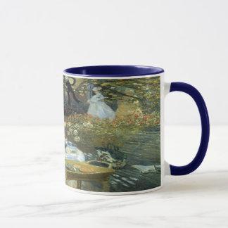 クロード・モネのヴィンテージの印象主義著昼食会 マグカップ