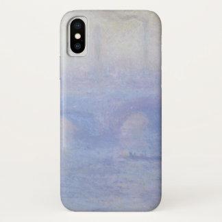 クロード・モネの印象主義の芸術によるウォータールー橋 iPhone X ケース