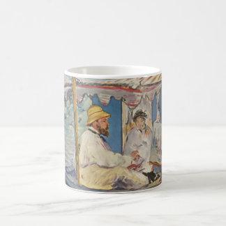 クロード・モネの絵画-エドワールManet コーヒーマグカップ