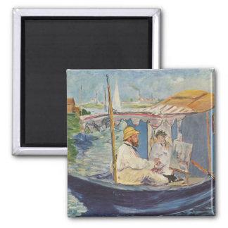 クロード・モネの絵画-エドワールManet マグネット