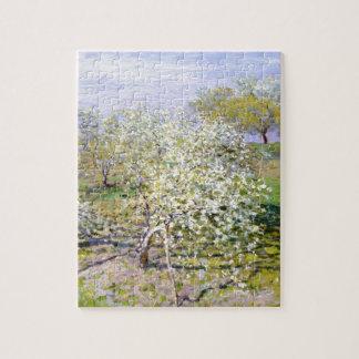 クロード・モネりんごの木 ジグソーパズル