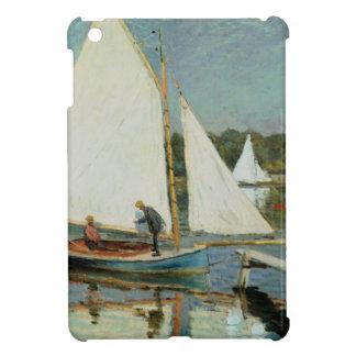クロード・モネアルジャントゥーユで航海する| c.1874 iPad miniカバー