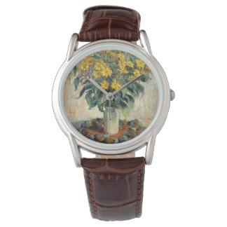 クロード・モネキクイモによっては1880年が開花します 腕時計