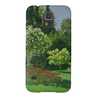 クロード・モネ庭の| Jeanne Marie Lecadre Galaxy S5 ケース