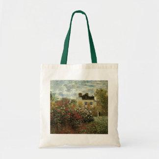 クロード・モネ著アルジャントゥーユのMonetの庭 トートバッグ