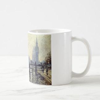クロード・モネ著ウエストミンスターの下のテムズ コーヒーマグカップ